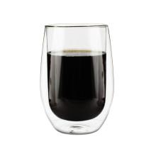 Venta caliente tazas de vidrio de borosilicato para el café