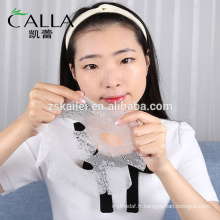 Fournisseur d'usine hydrater le masque facial de dentelle avec le certificat