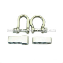 Fashion High Quality Metal Adjustable Stainless Steel Shackle Buckle