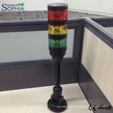 Luz de advertência IP67 da luz da torre de sinal da máquina da qualidade SMD