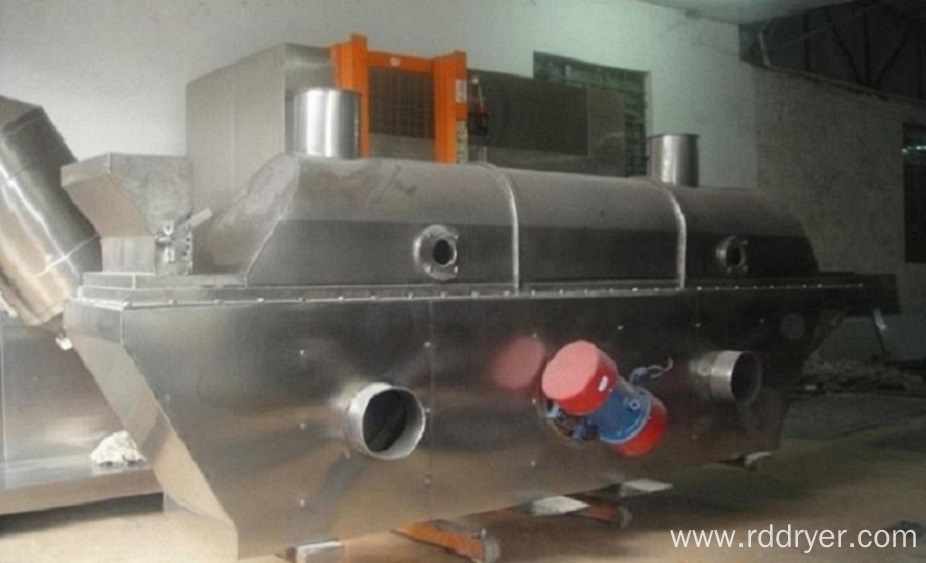 Laundry Powder Vibrating Fluid Bed Drying Machine
