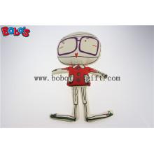 """13.8 """"Высота Экологичная ткань Индивидуальная фаршированная кукла с печатной линией Bos1130"""