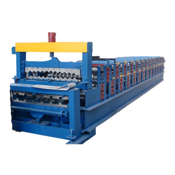 Steel Roofing Glazed Tile Roll Forming Machine Prices
