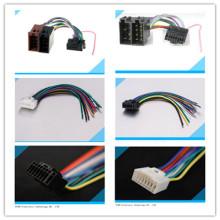 Alta qualidade do chicote de fios estereofónico do fio do conector do ISO do rádio audio do carro de 16 pinos auto para Alphine