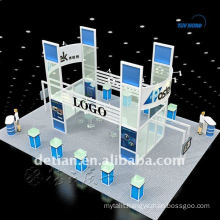 Modular booth exhibition design sample booth sample display rack