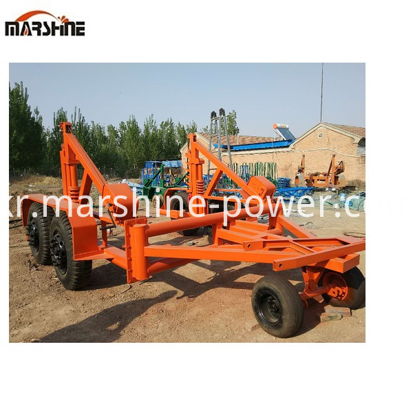 Hydraulic Reel Trailer