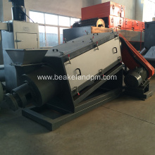 PET bottles waste plastic cleaning machine