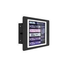 "Metal tablet enclosure stand side mount tablet stand for 10.2"""