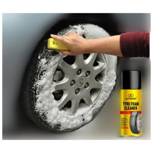 Aerosol del limpiador de la espuma del borde de la rueda de coche (AK-CC5014)