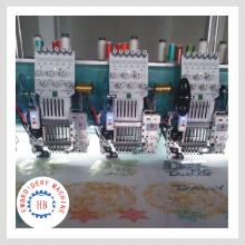 17 cabeza computarizado máquinas de bordado con lentejuelas en zhuji