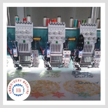 615 lentejuelas cording automatizaron la máquina del bordado