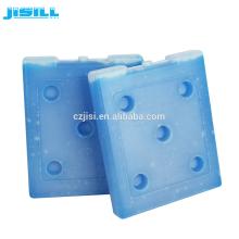 Plaque froide eutectique pour pack de glace en plastique dur