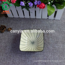 OEM china square wholesale cheap salad ceramic soup bowl