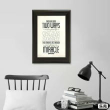 Рамки для постеров черный а4 элегантная фоторамка на стене