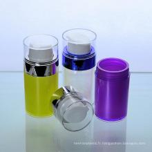 Nouvelle bouteille acrylique de pompe de Airless de 50ml pour le paquet cosmétique