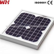 painéis solares de alta potência para iluminação pública LED