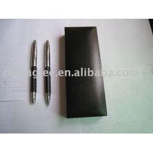 Conjunto de canetas promocionais