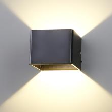 Simple 5W black LED indoor wall light