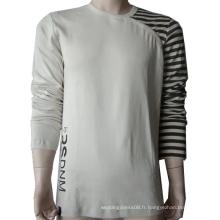 T-shirt imprimé col rond. emb. T-shirt.