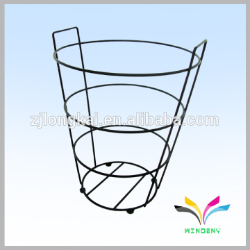 Factory Directly Supply Garden Metal Wire Flower Pot Display Stand
