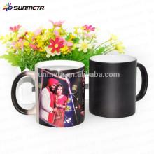 Taza de café mágica de Sunmeta para la sublimación, taza cambiante del color