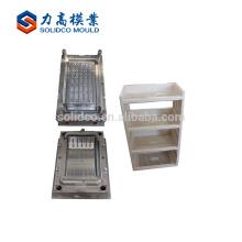 Piezas plásticas económicas del cajón de encargo y inyección apilable del molde de la caja del gabinete de almacenamiento