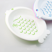 Kitchen Vegetable and Fruit Plastic Draining Basket Drain Basket