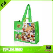 Recycling-PET-Einkaufstasche für Supermarkt (KLY-PET-0022)