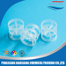 PP CPVC PVDF Plastic Pall Ring para tratamiento de aguas