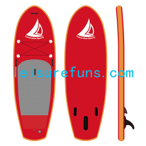 stiff inflatable yoga paddleboards