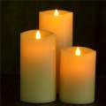 piccola onda a 360 gradi in movimento Flickering flame led candle