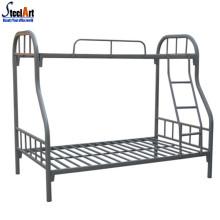 lit superposé en métal à deux niveaux