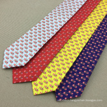 High Quality Silk Printed Tie Chinese Neckties China Gifts and Products for Men