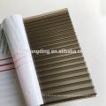 4mm / 6mm / 8mm / 10mm / 12mm / 16mm gefärbtes Polycarbonat-Hohlblech für Bedachungen