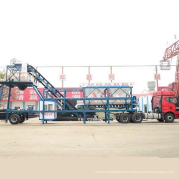 Certificat de la CE Yhzs35 marchant la centrale de mélange concrète marchant usine concrète de traitement en lots