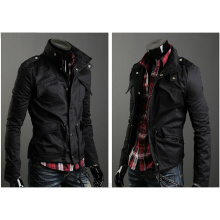 Толстое теплое мужское пальто для похудения с подставкой