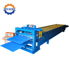 CNC Profile PPGI Double Panel Roll Forming Machine For Roof