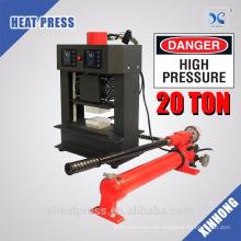 Presión de sublimación de alta presión 20T Máquina de prensa de calor de colofonia