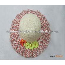 Chapeaux de plage de paille pour enfants