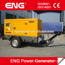 Generador portátil de 16KW con remolque de 2 ruedas