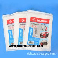 Painter's Plastic Drop Clothes or Drop Cloth