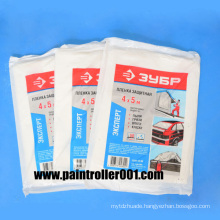 Painter′s Plastic Drop Clothes or Drop Cloth
