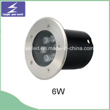 Высокое качество круглый 6W подземный светодиодный погребенный свет