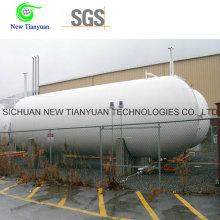 Récipient de réservoir liquide cryogénique de 20 pieds avec un volume géométrique de 16.95m3