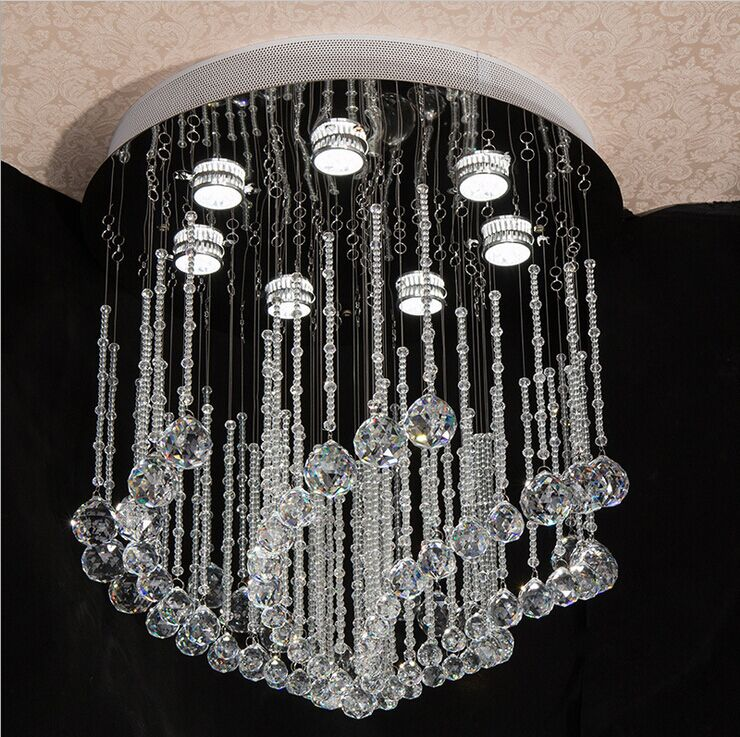 steel hanging lamp chandeliers led pendant lights