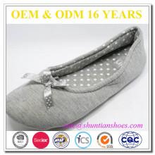 Fabricante de zapatos de interior de invierno para las mujeres