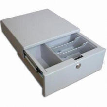 USB Port Cash Drawer, Suitable for Commercial POS Systems, Available in Black and White