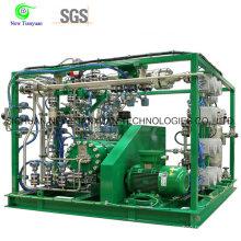 Compresseur de diaphragme à haute capacité pour gaz industriel spécial