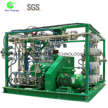 Super High Capacity Diaphragm Compressor for Special Industrial Gas