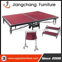 Adjustable Folding Mobile Stage For Sale JC-P01